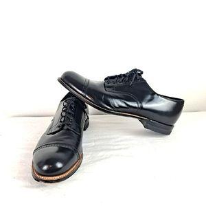 EUC Stacy Adams Shoes Madison Black Size 12EE